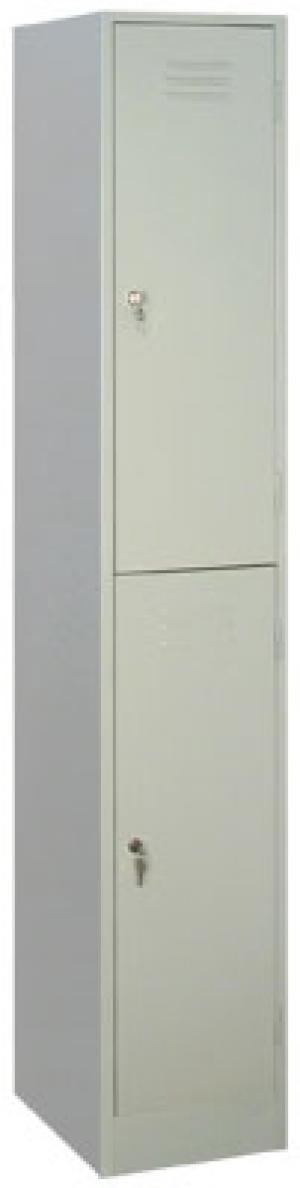 Шкаф металлический для одежды ШРМ - 12